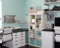 craft room / office space