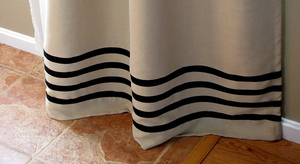No-Sew Curtain Panels Inspired by Ballard Designs