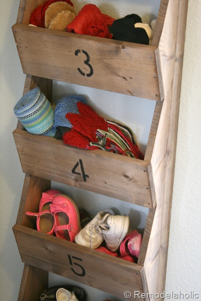 Easy DIY Rustic Wood Wall Storage Bins For Entryway Farmhouse Style, Remodelaholic
