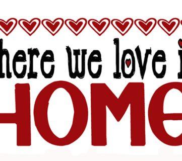 Love Your Home Printable and RA 109