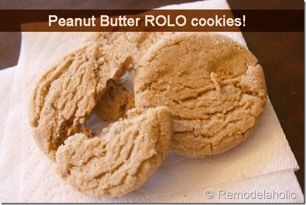 peanut butter rolo cookies copy