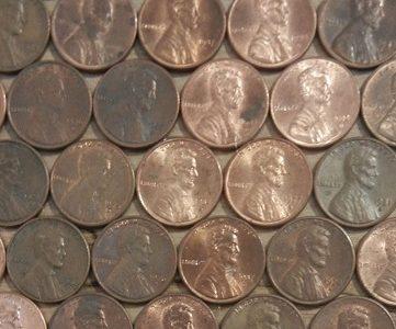 penny wall finish