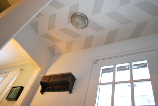 Remodelaholic Diy Beadboard Ceiling To Replace A