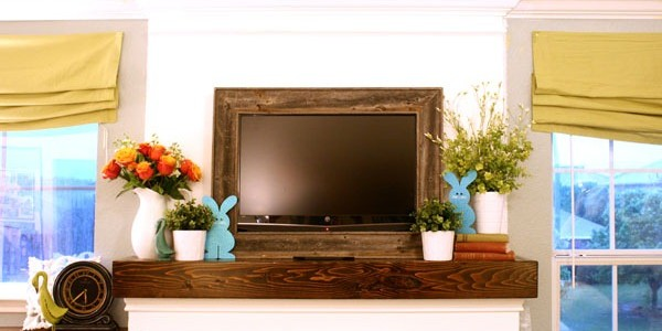 Spring Mantel; I tried.
