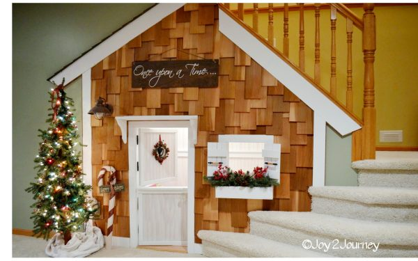 Under the stairs kids play house  (18)