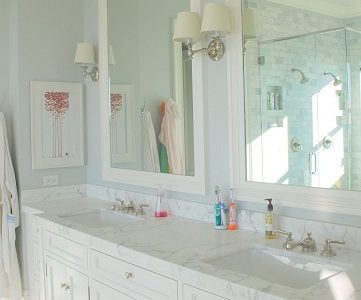 Marble Master Bathroom Dream Come True