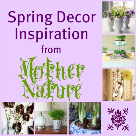 Spring Decor Inspiration from Mother Nature Construction