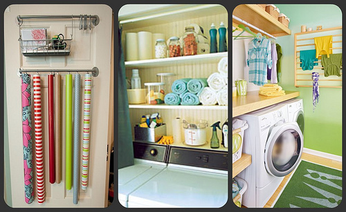 An Organized Laundry Room Inspiration By Design Build Love Featured On Remodelaholic