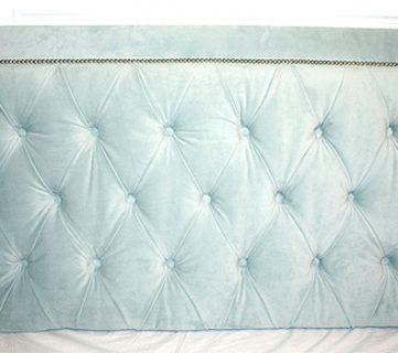 Upholstered Headboard & Bed Frame