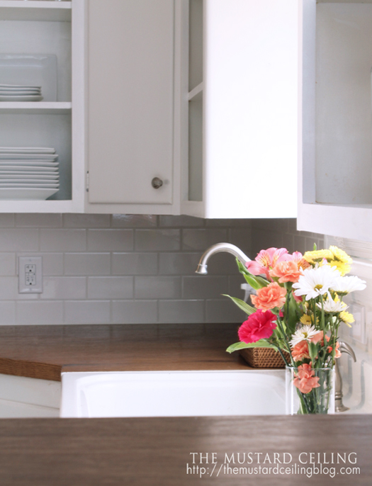 diy wood countertops from old wood doors the mustard ceiling on