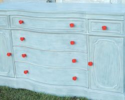 Fresh Blue Look For An Old Buffet 2