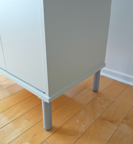 Play Kitchen From Microwave Stand (15)