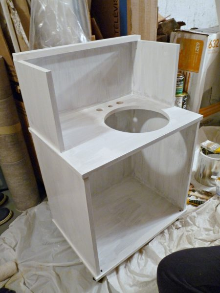 Play Kitchen From Microwave Stand (8)