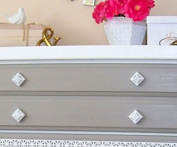 Decorative Dresser Makeover