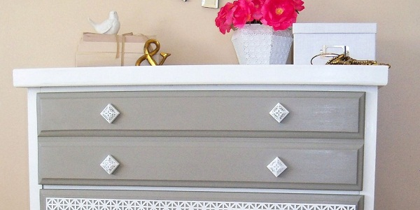 fancy dresser makeover