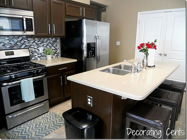 painting kitchen cabinets dark brown remodelaholic sleek chocolate painted cabinets 7337