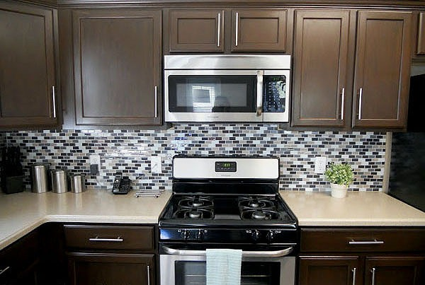 Interior Brown Kitchen Cabinets remodelaholic sleek dark chocolate painted cabinets
