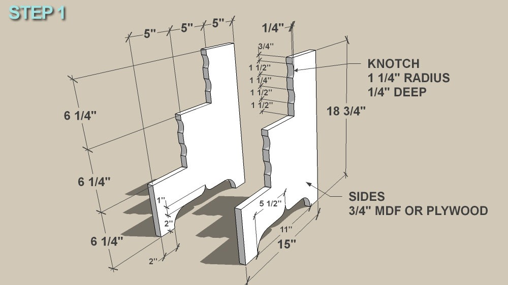 Stepping Stool step 1 ... & Remodelaholic | Antique Step Ladder Building Plans islam-shia.org