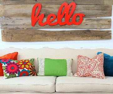 Home Sweet Home on a Budget:  Living Room Upholstery
