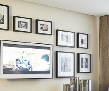 Home Sweet Home on a Budget:  Living with Television