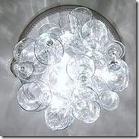 diy chandelier wine glass
