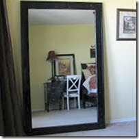 floor mirror tutorial ours