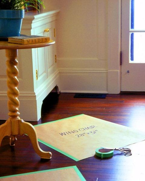 Floorplan Planner Furniture Paper Templates For Rearranging Furniture