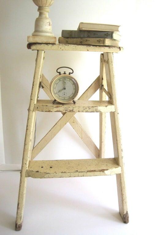 vintage-ladder-plans vintage-ladder-plans2 ...  sc 1 st  Remodelaholic & Remodelaholic | Antique Step Ladder Building Plans islam-shia.org