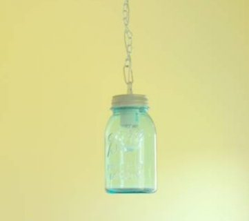 DIY Vintage Canning Mason Jar Pendant Lights