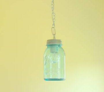 DIY Vintage Canning Mason Jar Pendant Lights