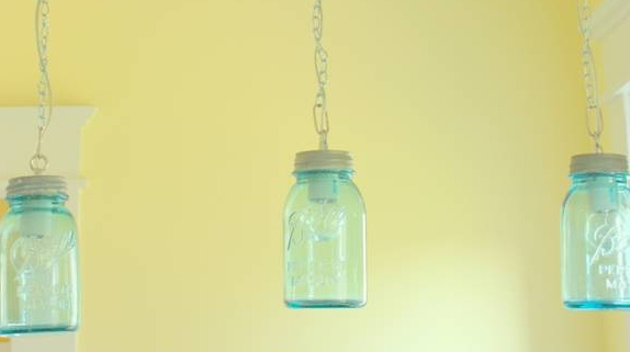 Diy Pendant Lighting Diy Wood Veneer Apartment Therapy Remodelaholic Diy Vintage Canning Mason Jar Pendant Lights