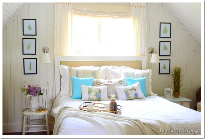 Remodelaholic | Beach Cottage Bedroom Makeover!