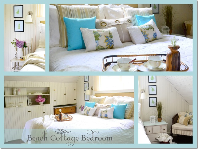 Beach Themed Bedroom Bedrooms Blue Green Lavender Accents3