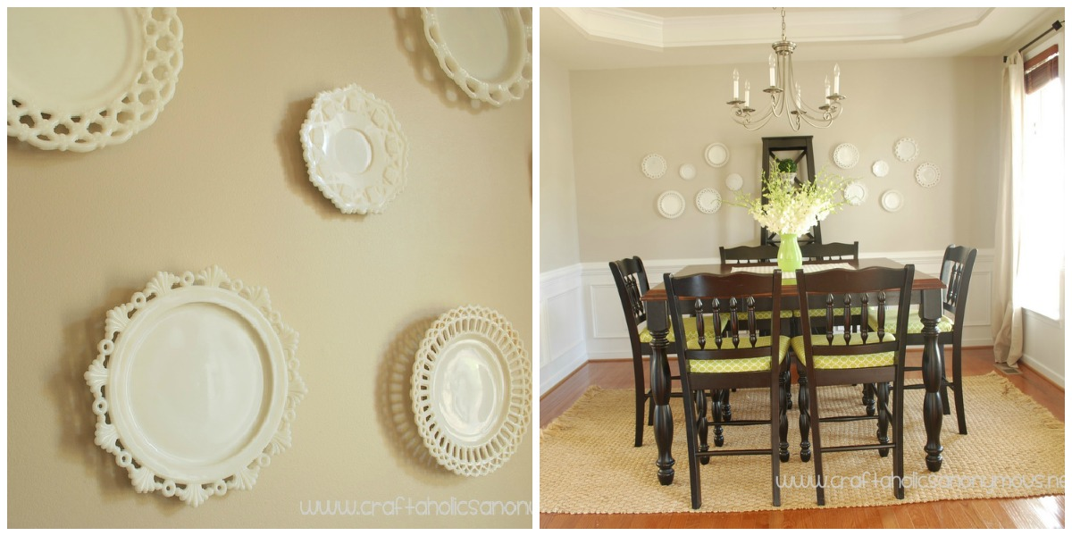 Remodelaholic home sweet home on a budget dining room for Dining room wall decor ideas