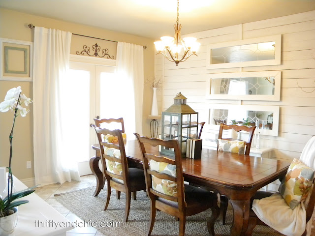 Remodelaholic Home Sweet Home on a Budget Dining Room Makeovers