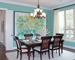 House of Turquoise dining room A