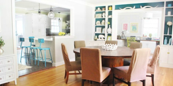 Home Sweet Home on a Budget:  Dining Furniture Updates