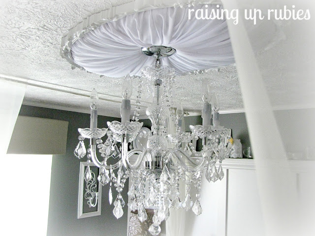 Home Depot Crystal Chandelier: Black And White Master Bedroom Reveal