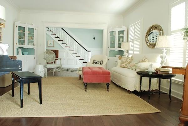 bright living room makeover diy