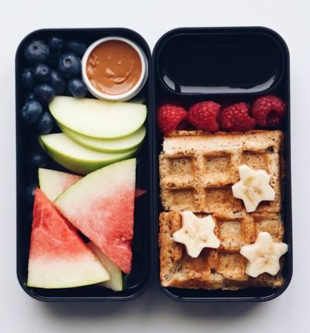 Waffle bento box