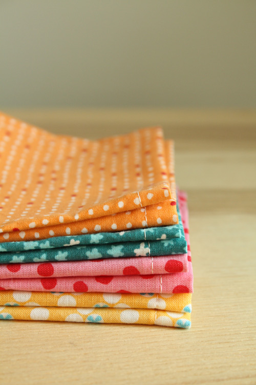 sew reusable school lunch napkins
