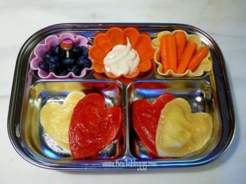 Ravioli bento box idea for lunch