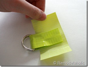 Chevron Stripe Duct Tape Belt Tutorial (13)
