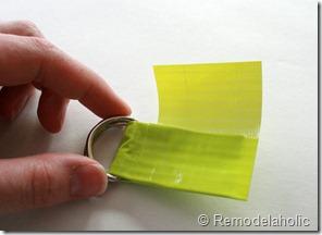 Chevron Stripe Duct Tape Belt Tutorial (14)