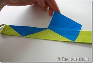Chevron Stripe Duct Tape Belt Tutorial (23)