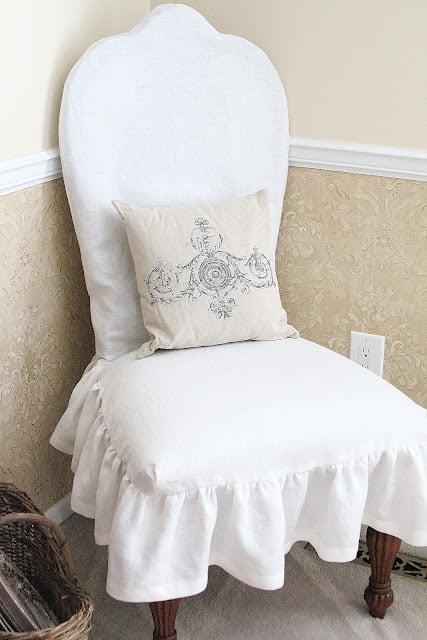 Kitchen Chair Slipcover