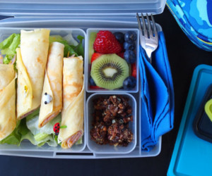 Ham And Cheese Crepes For Lunch With Paleo Gluten Free Snack And Fresh Fruit Blog