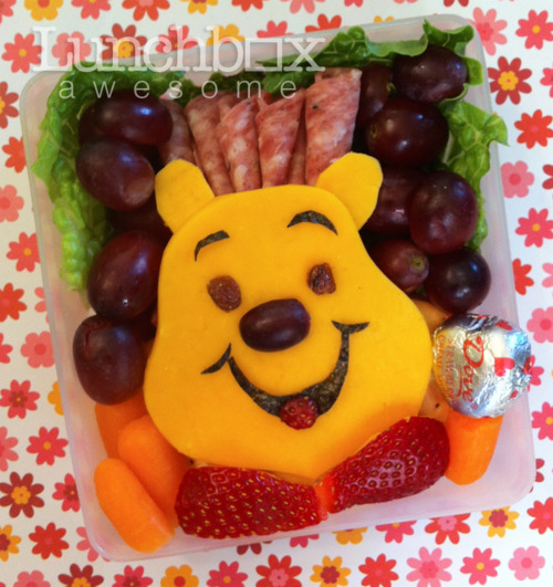 Lunch box awesome winnie the pooh bento box