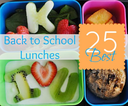 School lunch ideas for bento boxes