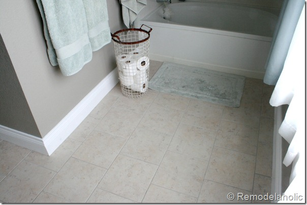 New Tile In Master Bathroom Remodelaholic (2)